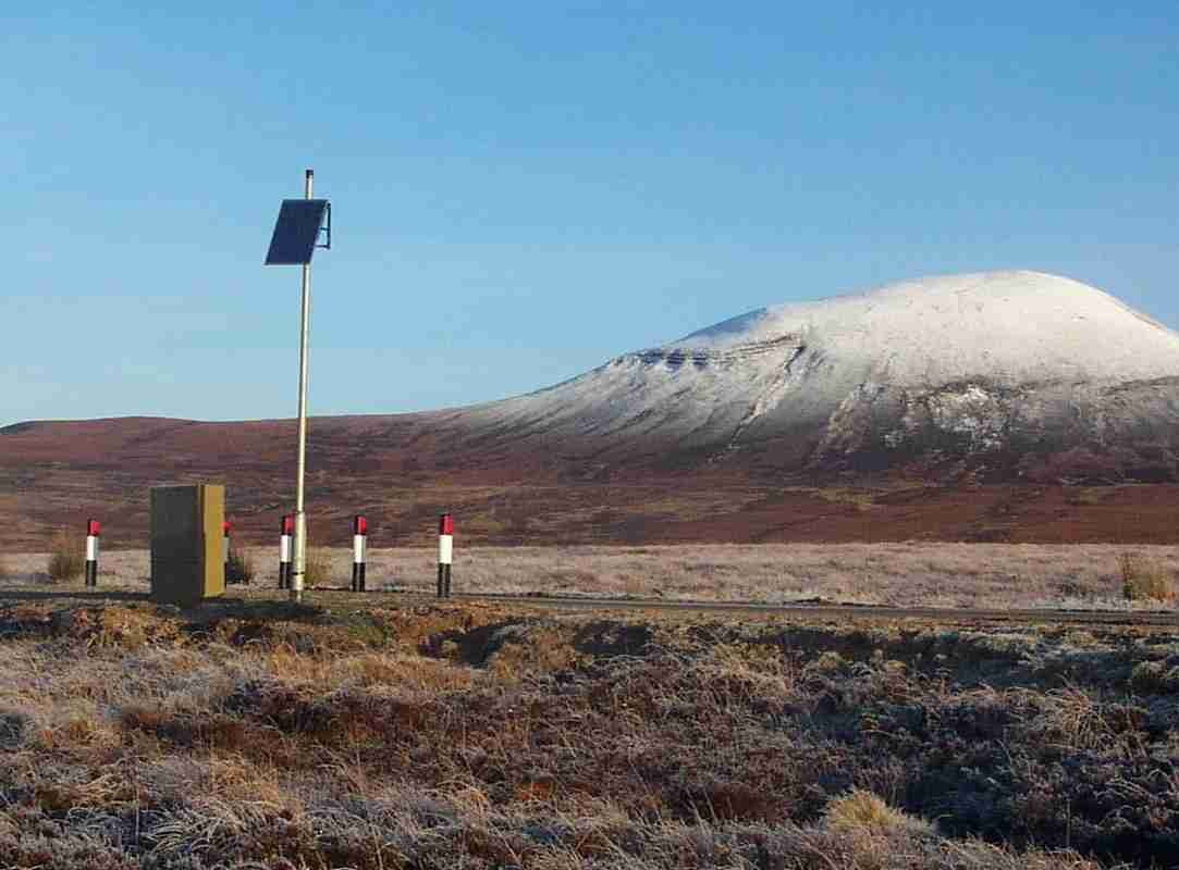 Percostation installed in Garvalt, Scotland